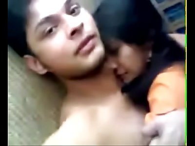 Cute indian girl sex with junior coworker in company tour